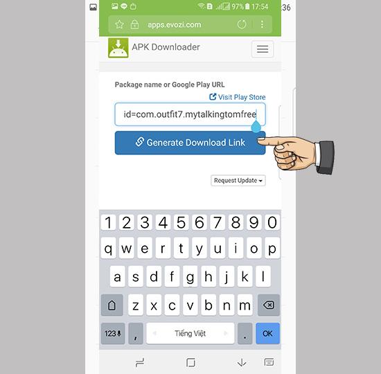 Hướng dẫn tải nhanh file APK từ CH Play để cài đặt Offline
