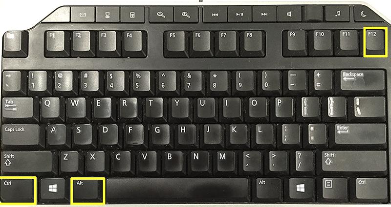 Nhấn tổ hợp 3 phím CTRL+ALT+F12 để mở Intel HD Graphics Control Panel