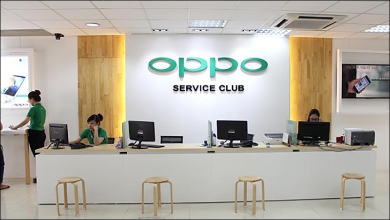 Liên hệ Trung tâm CSKH của OPPO