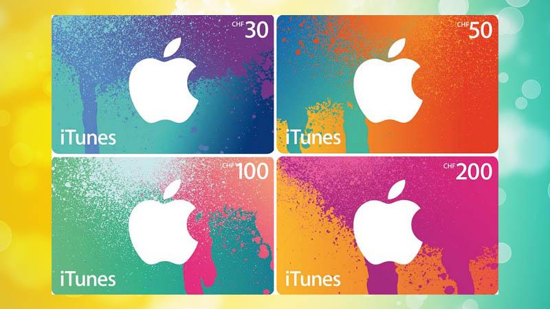 Thẻ quà tặng iTunes là gì?
