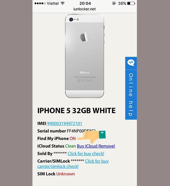 Check iCloud trên thiết bị của Apple - Thegioididong com