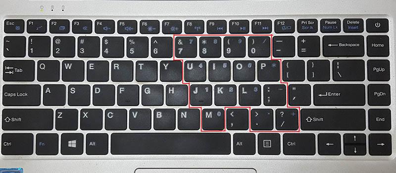 Tác dụng của phím NumLock trên bàn phím