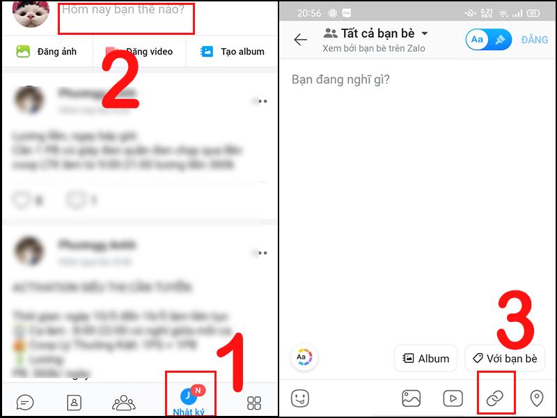 Cách đăng bài hát, chia sẻ nhạc từ Zing MP3 lên Zalo cực đơn giản