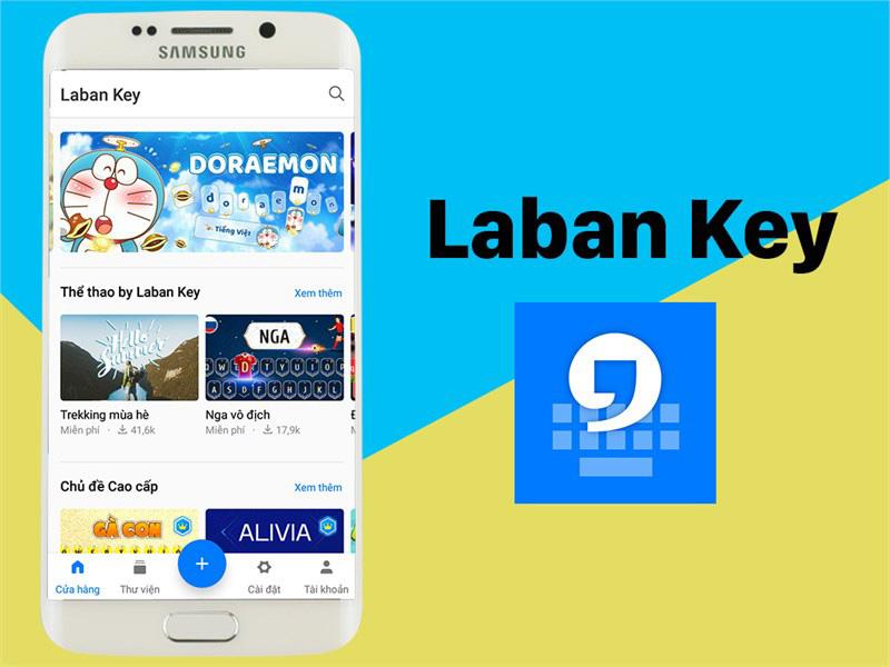 Ứng dụng Laban Key