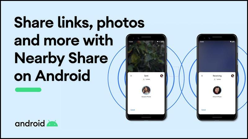 Tình năng chia sẻ ứng dụng cho Android