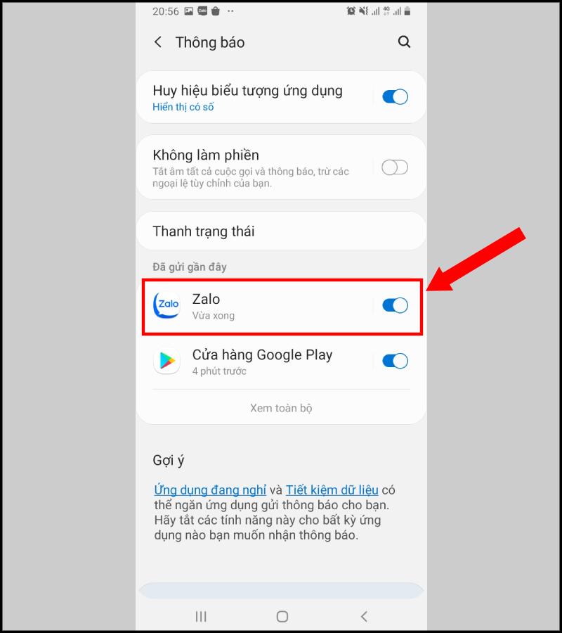 Hướng dẫn 3 cách khắc phục lỗi không nhận được thông báo trên Zalo