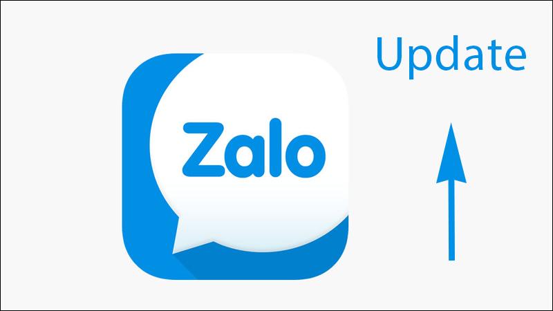 Update phiên bản mới nhất của Zalo để sử dụng được các tính năng