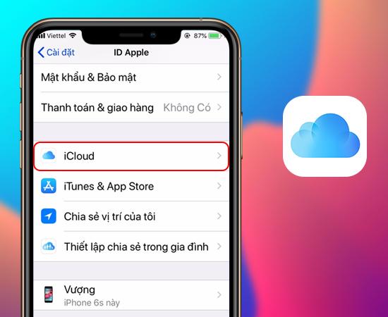 Cách sao lưu dữ liệu trên iPhone vào iCloud đơn giản nhất -  Thegioididong.com
