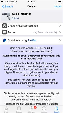 Hướng dẫn khôi phục iPhone đã Jailbreak không cần iTunes