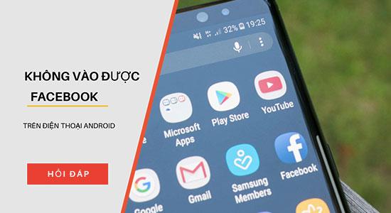 huong dan khac phuc loi facebook bi mat ket noi mang 04 - Khắc phục lỗi không đăng nhập được Facebook trên Iphone, Android và Laptop 2019