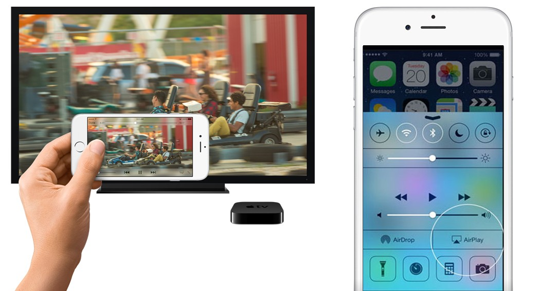Cách chiếu màn hình iPhone 6 lên tivi