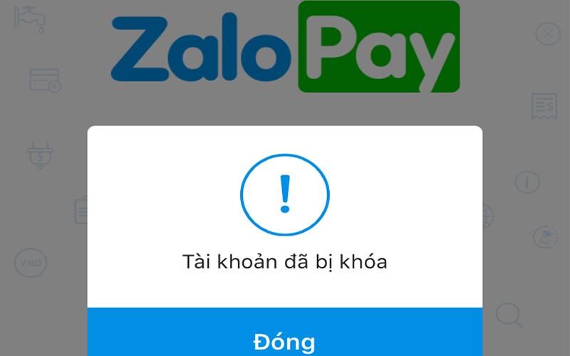 Tài khoản Zalo bị cấm sử dụng