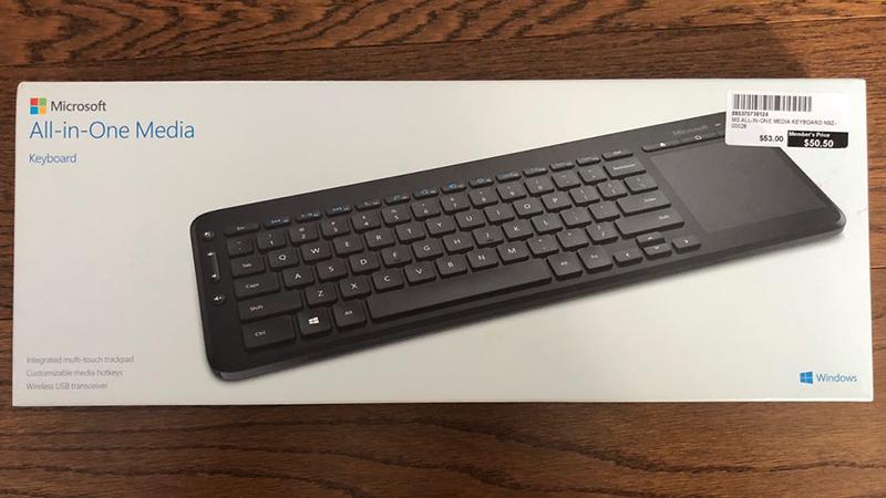 Kiểm tra đèn bàn phím trên vỏ hộp sản phẩm