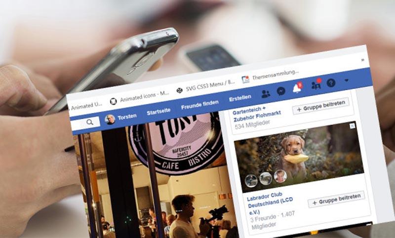 Facebook trên thiết bị di động