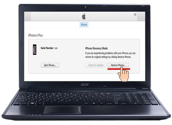 Hướng dẫn hạ cấp iOS 9 về iOS 8 trên iPhone, iPad, iPod Touch