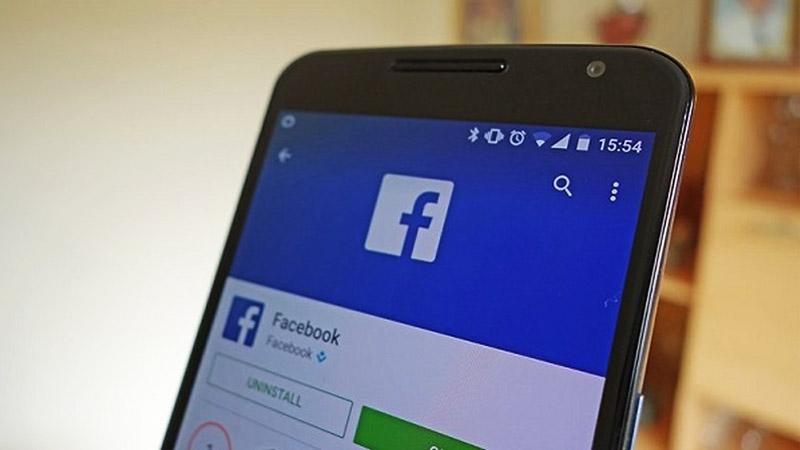 Gỡ cài đặt Facebook và tải lại