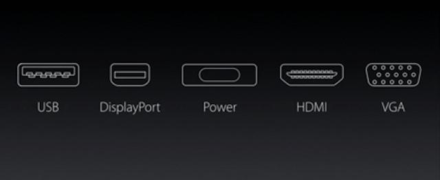 Những cổng kết nối này đã không còn xuất hiện trên máy tính mới của Apple nữa