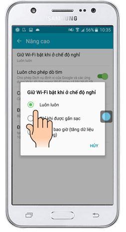Tuyen chon nhung loi thuong thay tren Samsung Galaxy J7 va cach thuc khac phuc