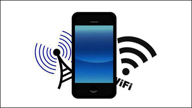 Đăng ký WiFi cho điện thoại là đăng ký WiFi sẵn có hoặc phát WiFi