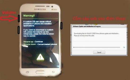 Khắc phục các lỗi phần mềm trên một số dòng điện thoại Samsung