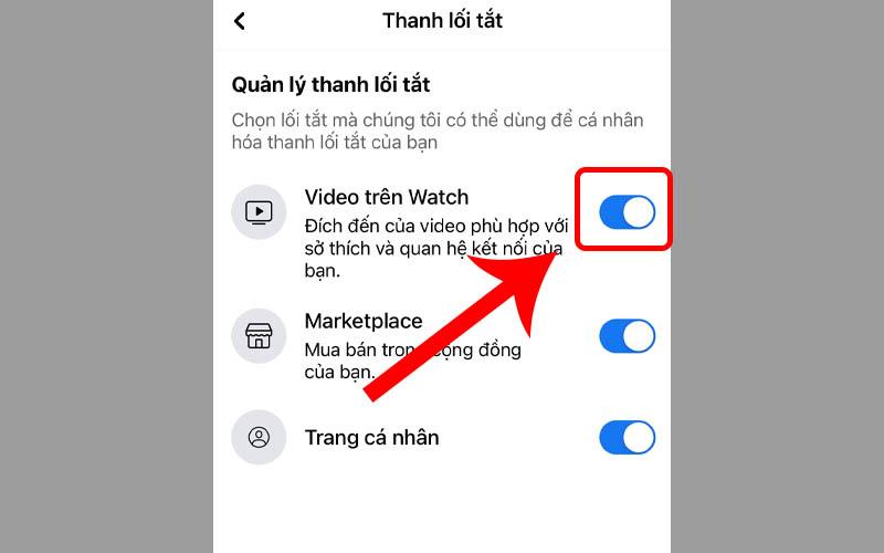 Mở nút video trên Watch