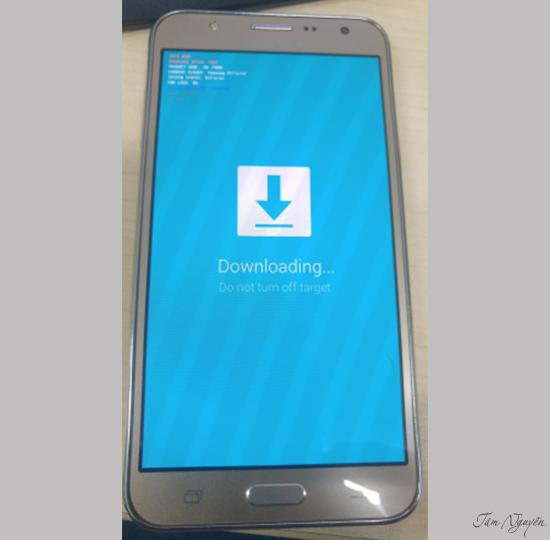 Hướng dẫn chạy lại Rom chính hãng cho Galaxy J7 - Thegioididong com