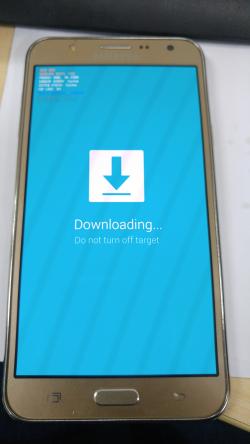 vào chế độ download mode
