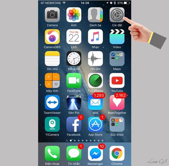 Nâng cấp iOS 9.3 chính thức