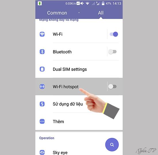 ZTE Axon cách chia sẽ 3G làm wifi - Thegioididong com