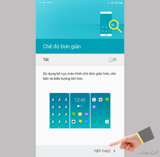 Hướng dẫn cài đặt ban đầu trên Samsung Galaxy S6 Edge Plus - 137746