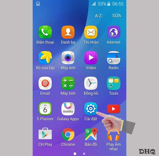 Cập nhật phần mềm SAMSUNG GALAXY J1 2016 - Thegioididong com