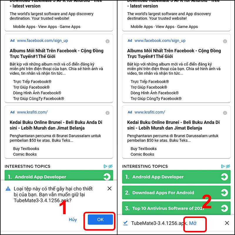 Cách tải Tubemate Video Downloader về điện thoại