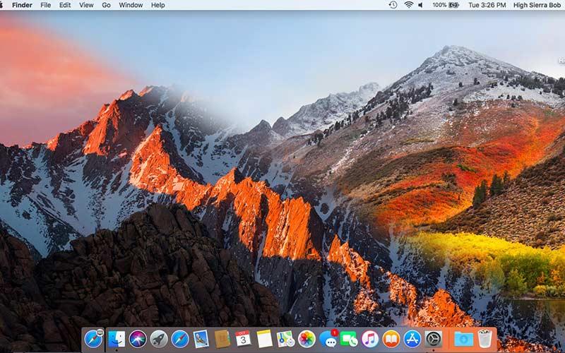 Phiên bản Mac OS High Sierra