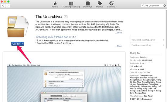 Hướng dẫn giải nén file trên MAC OS - Thegioididong com