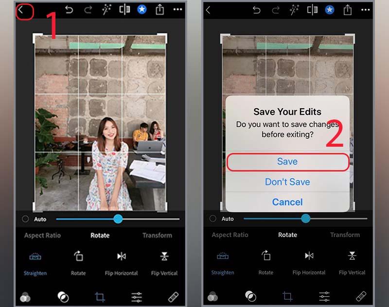 Hướng dẫn cách lật ảnh bị ngược trên iPhone, điện thoại Android