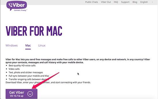 Hướng dẫn cài Viber trên Mac OS - Thegioididong com
