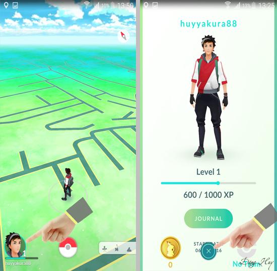 Thông tin về quả cầu chứa Pokémon
