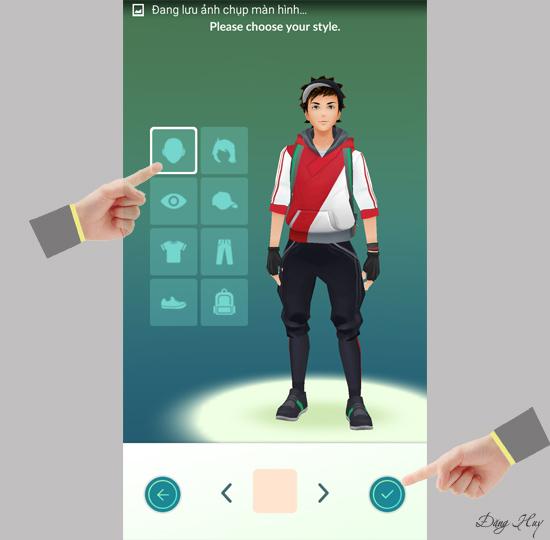 Tạo hình nhân vật Pokemon