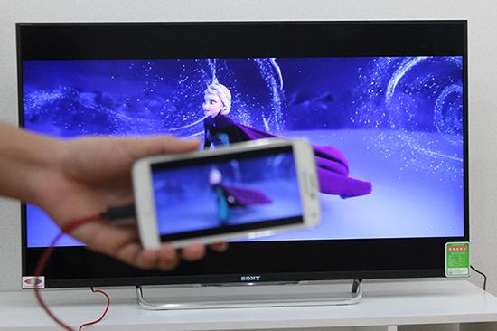 6 cách kết nối điện thoại Android với tivi