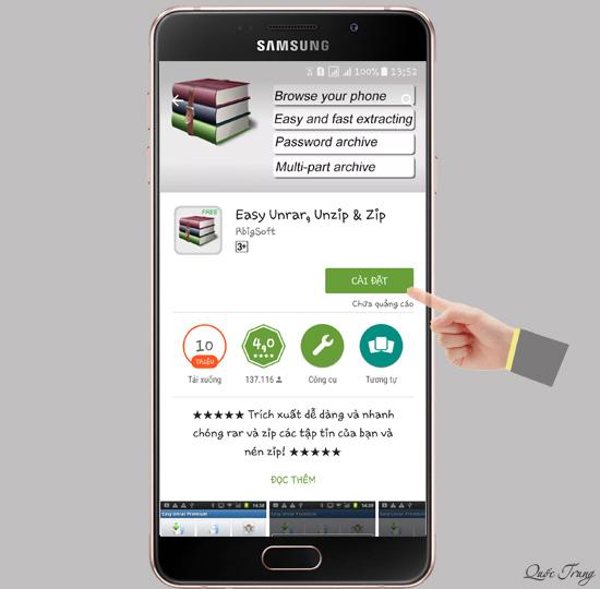 Hướng dẫn giải nén trên Android - Thegioididong com