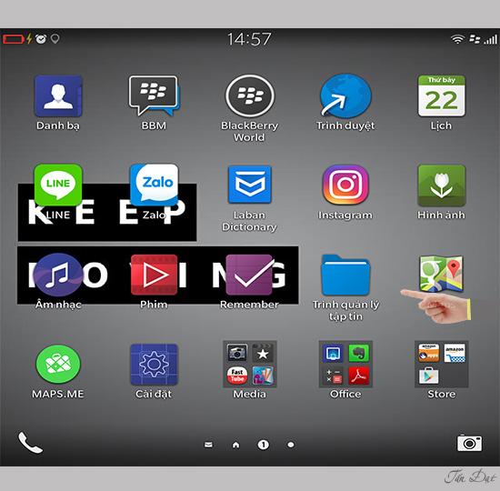 Cài đặt ứng dụng Android trên BlackBerry 10 - Thegioididong com