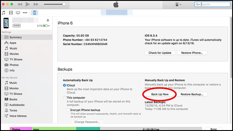 iphone 4 bị vô hiệu hóa kết nối với itunes