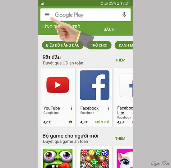 Cách ngăn việc tự động cập nhật ứng dụng trên Samsung Galaxy