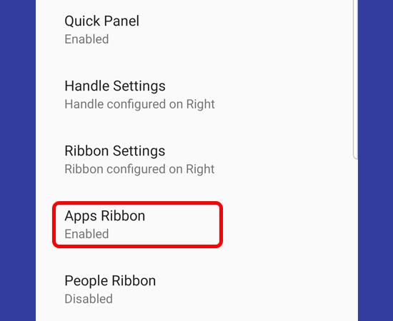 Thêm ứng dụng vào thanh công cụ tại mục Apps Ribbon.