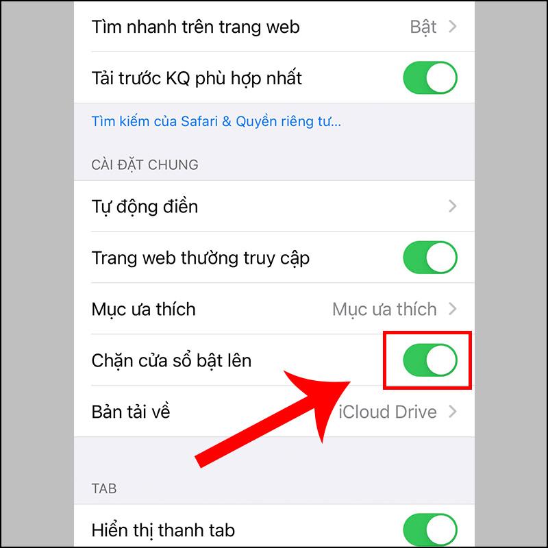chặn quảng cáo trên iPhone, iPad