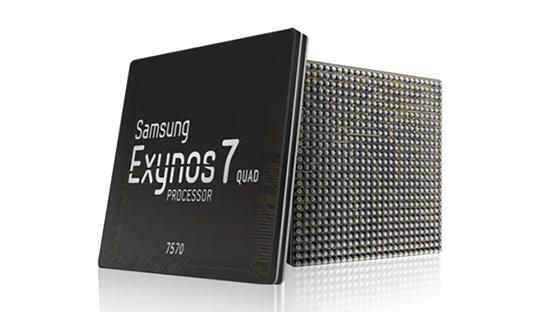 Exynos 7570 chỉ hỗ trợ độ phân giải tối đa 720p