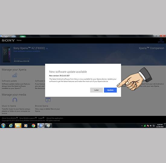 Cách cập nhật Android 7 0 Nougat cho Sony Xperia XZ