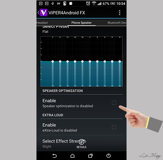Cách tăng chất lượng âm thanh Android cực hay bằng ViPER4Android FX