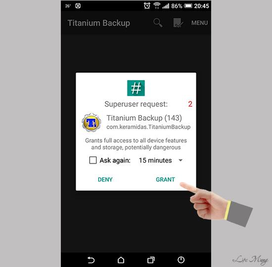 Cách xóa phần mềm hệ thống trên Android đã root