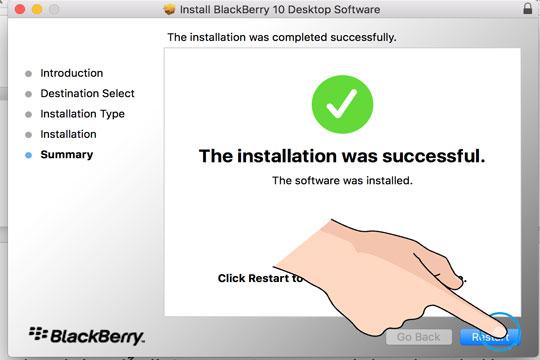 Cách cài Blackberry BLend trên Mac OS Sierra - Thegioididong com